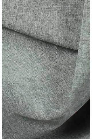 Velours Chenille linnen grijs
